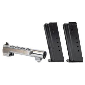 Magnum Research Desert Eagle Combo Pack 6 in Barrel & 2 Magazine .50 AE 7/rd Bright NIckel