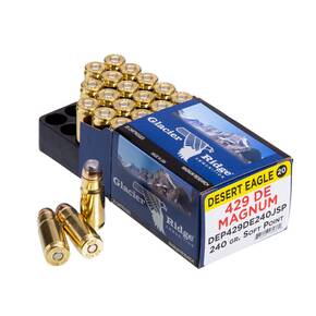 Magnum Research Desert Eagle Ammunition .429 DE 240 gr JSP 20/ct