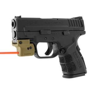 LaserLyte Gun Sight Trainer Universal Rail Mount Tan