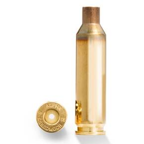 Alpha Munitions Ultra Premium Unprimed Brass Cartridge Cases 6mm Creedmoor - Large Rifle Primer 100/Box