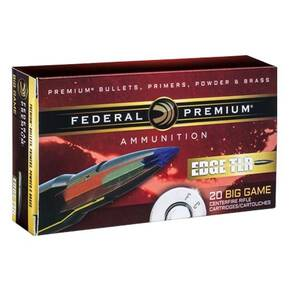 Federal Edge TLE Rifle Ammunition .30-06 Sprg 180 gr Edge TLR  20/ct