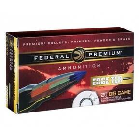 Federal Edge TLE Rifle Ammunition .30-06 Sprg 175 gr Edge TLR 2730 fps 20/ct