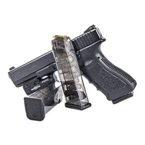 Elite Tactical Systems Glock 17 Magazine Fits Glock 17, 18, 19, 19x, 26, 34, and 45 Gen1-5 9mm 10/rd