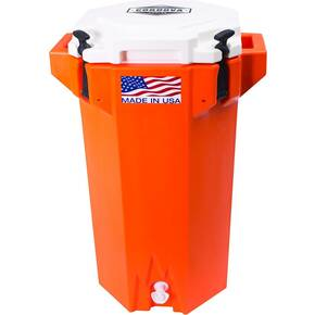 Cordova Coolers Hydro Jug 5 Gallon - Orange/White