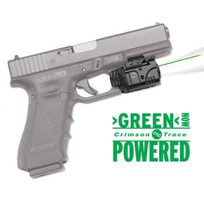 Crimson Trace Rail Master Pro Laser Sight & Tactical Light Combo- Universal Green Laser