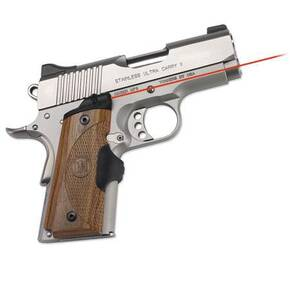 Crimson Trace Master Series Lasergrip - 1911 Officer Defend Compact Walnut