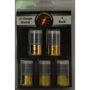 Exotic Shorty Shotshells 12 ga 1-3/4 in 1190 fps #4 5/ct