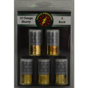 Exotic Shorty Shotshells 12 ga 1-3/4 in 1215 fps #3 5/ct