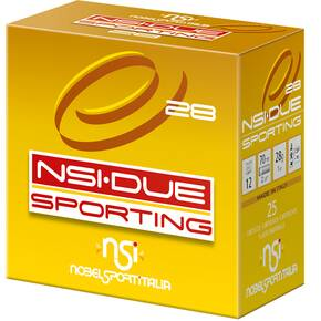 Nobel NSI Due Sporting Shotshells 12 ga 2-3/4 1 oz 1345 fps #7.5 25/ct
