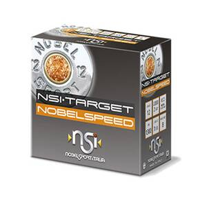 "Noble NSI Target Nobel Speed Shotshell 12 ga 2-3/4"" 1-1/8 oz 1300 fps #8 25/ct"