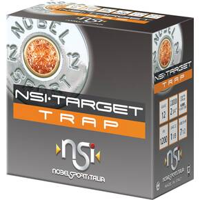 "Noble NSI Target Trap Shotshell 20 ga 2-3/4"" 1-1/8 oz 1200 fps #7.5 25/ct"