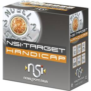 "Nobel NSI Target Handicap Shotshell 12 ga 2-3/4"" 1-1/8 oz 1265 fps  #7.5 25/ct"