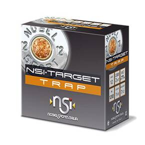"Nobel NSI Target Trap Shotshell 12 ga 2-3/4"" 1-1/8 oz 1145 fps #8 25/ct"