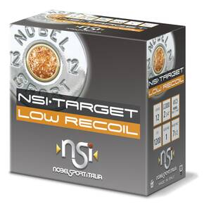 "Noble Sport Target Low Recoil Shotshells 12 ga 2-3/4"" 1 oz 1200 fps #7 25/ct"