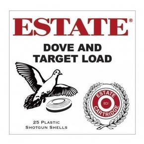 "Estate Cartridge Dove & Target Shotshells 12ga 2-3/4"" 1-1/8oz 1200 fps #8 200/ct"