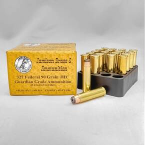 Jamison Handgun Ammunition .327 Federal 90 gr JHC 1465 fps 20/ct