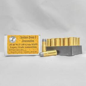 Jamison Rifle Ammunition .38-40 Win 180 gr RNFP 20/ct