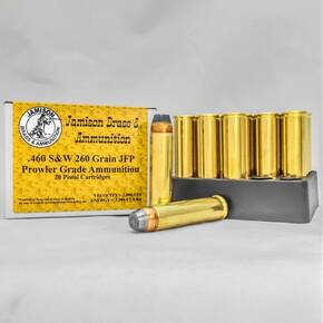 Jamison Handgun Ammunition .460 S&W 260 gr JFP 2000 fps 20 ct