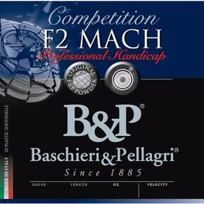 B&P F2 MACH Professional Handicap Shotshells 25/ct