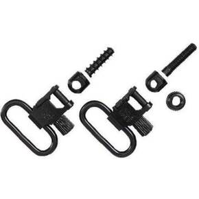 "Uncle Mike's QD Machine Screw Type Swivel - 1"" Black"