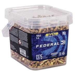 Federal Champion BYOB Rimfire Ammunition 22lr 36gr CPHP 1260 fps 1375/ct