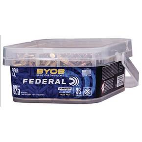 Federal Champion BYOB Rimfire Ammunition 22lr 36gr CPHP 1260 fps 825/ct