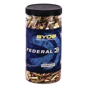 Federal Champion BYOB Rimfire Ammunition 22lr 36gr CPHP 1260 fps 450/ct