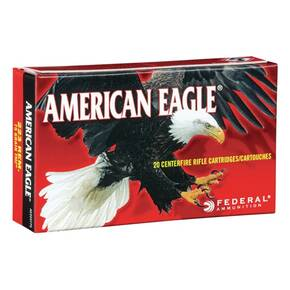 Federal American Eagle Rifle Amunition .223 Rem 55 gr FMJ 3240 fps 100/ct