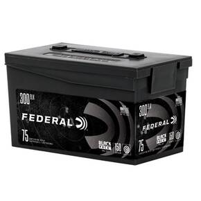 Federal American Eagle Black Back .300 AAC BLK 150gr FMJBT 1900 fps 75/ct
