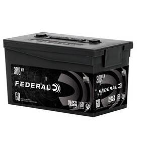 Federal American Eagle Black Pack .308 Win 150 gr FMJBT 2820 fps 60/ct