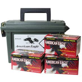 Federal American Eagle Handgun Ammunition .40 S&W 180 gr FMJ 1000 fps 300/ct