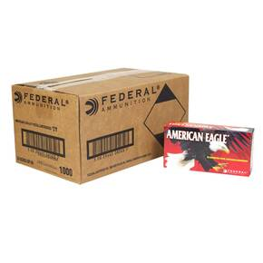 American Eagle Handgun Ammunition .40 S&W 165 gr FMJ 1130 fps 1000/ct