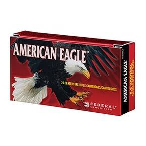 Federal American Eagle Rifle Ammunition 6.5 Creedmoor 140 gr OTM 2700 fps 20/ct