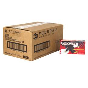 American Eagle Handgun Ammunition 9mm 115 gr FMJ 1000/ct