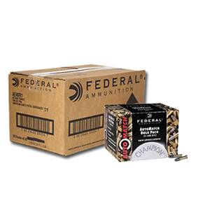 Federal AutoMatch Rimfire Ammunition .22 LR 40 gr SLD 1200 fps 3250/ct