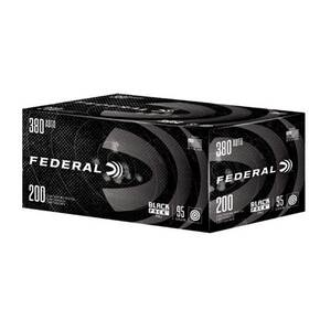 Federal Handgun Black Pack .380 ACP 95gr FMJ 945 fps 200/ct