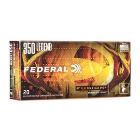 Federal Fusion Rifle Ammunition .350 Legen 180gr SP 350 Legen 20/ct