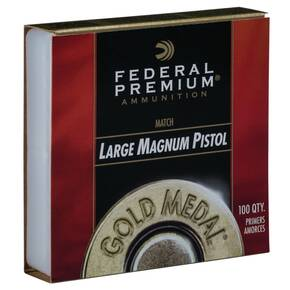 Federal Gold Medal Centerfire Large Magnum Pistol Match Primer 1000/ct