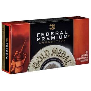 Federal Gold Medal Rifle Ammunition 6.5 Creedmoor 140 gr  SMK 2675 fps 20/ct