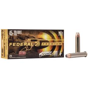 Federal Hammer Down Rifle Ammuniiton .45-70 Govt 300 gr SP 1850 fps 20/ct