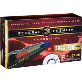 Federal Edge TLE Rifle Ammunition .270 WSM 140 gr Edge TLR 3184 fps 20/ct