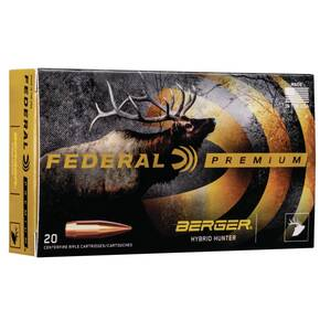 Federal Classic Hunter Berger Hybrid Rifle Ammunition .30-06 Sprg 168 gr BTHP 2800 fps 20/ct