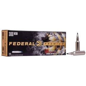 Federal Terminal Ascent Rifle Ammuntion .300 WSM 200 gr 2810 fps 20/ct