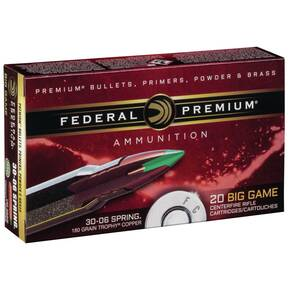 Federal Edge TLR Rifle Ammunition 6.5 Creedmoor 130 gr TLR 2750 fps 20/ct
