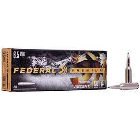 Federal Terminal Ascent Rifle Ammuntion 6.5 PRC 130 gr 3000 fps 20/ct