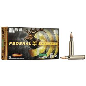 Federal Premium Sierra GameKing Rifle Ammunition 7mm Rem Mag 165 gr BTSP 2950 fps 20/ct