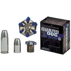 Federal Premium Guard Dog Home Defense Handgun Ammunition 9mm Luger 105 gr FMJ 1230 fps 20/box