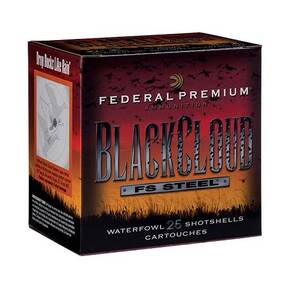 Federal Premium Black Cloud FS Steel Shotshell 10ga 3-1/2 1-5/8oz 1375 fps #2 25rds