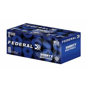 "Federal Mini Shotshell 12ga 1-3/4"" 4 Buckshot 10/ct"