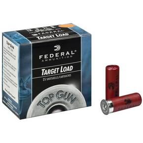 "Federal Top Gun 12 ga 2 3/4"" 3 Dram 1-1/8 oz #8 25/ct"
